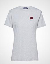Baum Und Pferdgarten Juna T-shirts & Tops Short-sleeved Hvit BAUM UND PFERDGARTEN