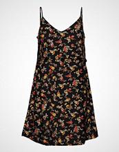 Mango Double Layer Dress Kort Kjole Svart MANGO