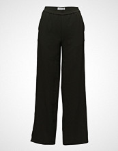 Holzweiler Moja Solid Trousers Vide Bukser Svart HOLZWEILER