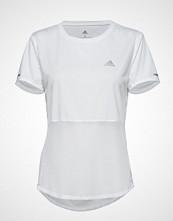 Adidas Own The Run Tee T-shirts & Tops Short-sleeved Hvit ADIDAS