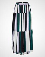 Denim Hunter Dhmartes Pleated Maxi Skirt Pleated Knelangt Skjørt Multi/mønstret DENIM HUNTER