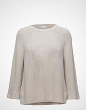 Filippa K Ribbed Cotton Sweater Strikket Genser Grå FILIPPA K