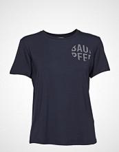 Baum Und Pferdgarten Enye T-shirts & Tops Short-sleeved Blå BAUM UND PFERDGARTEN