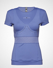 Adidas by Stella McCartney Train Tee T-shirts & Tops Short-sleeved Blå ADIDAS BY STELLA MCCARTNEY