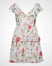 Vila Viglinda S/L V-Neck Dress/Ka Kort Kjole Multi/mønstret VILA