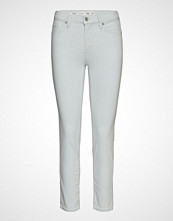Mango Cropped Slim-Fit Grace Jeans Slim Jeans Hvit MANGO
