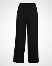Gina Tricot Ylva Culotte Trousers Vide Bukser Svart GINA TRICOT