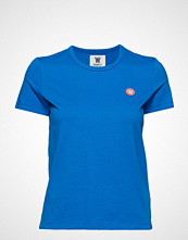 Wood Wood Uma T-Shirt T-shirts & Tops Short-sleeved Blå WOOD WOOD