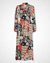 by Ti Mo Patchwork Wrap Dress Maxikjole Festkjole Multi/mønstret BY TI MO