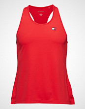 Tommy Sport Tank Top Back Logo T-shirts & Tops Sleeveless Rød TOMMY SPORT