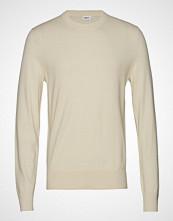 Filippa K M. Cotton Merino Basic Sweater Strikkegenser M. Rund Krage Creme FILIPPA K