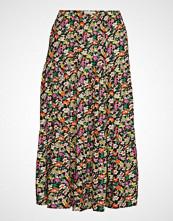 Lollys Laundry Morning Skirt Knelangt Skjørt Multi/mønstret LOLLYS LAUNDRY