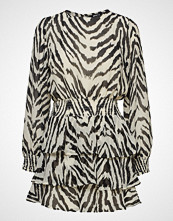Gina Tricot Ava Chiffon Dress Kort Kjole Multi/mønstret GINA TRICOT