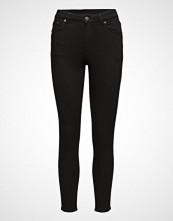 Cheap Monday Mid Skin Pure Black Skinny Jeans Svart CHEAP MONDAY