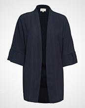 Minus July Kimono Strikkegenser Cardigan Blå MINUS