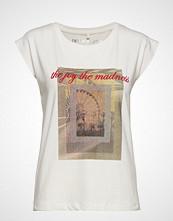 Denim Hunter Dhjoy T-Shirt T-shirts & Tops Short-sleeved Creme DENIM HUNTER