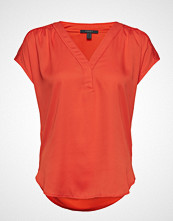 Esprit Collection T-Shirts Bluse Kortermet Oransje ESPRIT COLLECTION