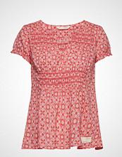 Odd Molly Facile Flower Blouse T-shirts & Tops Short-sleeved Rosa ODD MOLLY