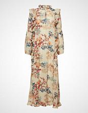 Lollys Laundry Sanni Dress Knelang Kjole Multi/mønstret LOLLYS LAUNDRY