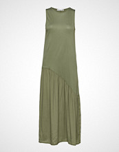 Mango Ruched Detail Dress Maxikjole Festkjole Grønn MANGO