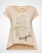 Odd Molly Salvation T-Shirt T-shirts & Tops Short-sleeved Rosa ODD MOLLY