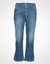 Please Jeans 5b Cropped Slim Jeans Blå PLEASE JEANS