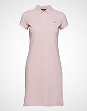 Gant O1. The Original Pique Dress Ss Kort Kjole Rosa GANT