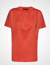 Weekend Max Mara Valdese T-shirts & Tops Short-sleeved Oransje WEEKEND MAX MARA