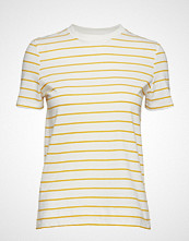 Mango Organic Cotton T-Shirt T-shirts & Tops Short-sleeved Gul MANGO
