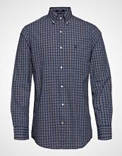 Gant O1. Tp Bc Indigo Check Reg Bd Skjorte Business Blå GANT