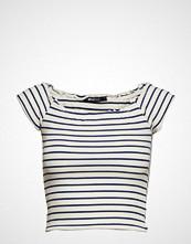 Gina Tricot Cara Off Shoulder Top T-shirts & Tops Short-sleeved Hvit GINA TRICOT