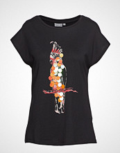 B.Young Bytiana Tshirt1 - T-shirts & Tops Short-sleeved Multi/mønstret B.YOUNG