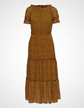 Vila Viosella 2/4 Dress/Za Knelang Kjole Gul VILA