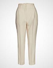 Mango Loops High Waist Trousers Vide Bukser Beige MANGO