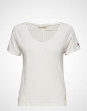 Odd Molly Deep Vibes Top T-shirts & Tops Short-sleeved Hvit ODD MOLLY