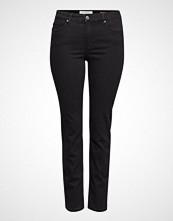 Violeta by Mango Slim-Fit Susan Jeans Skinny Jeans Svart VIOLETA BY MANGO