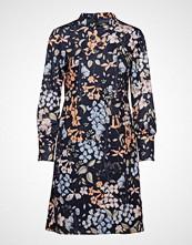 Taifun Dress Woven Fabric Kort Kjole Blå TAIFUN