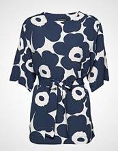 Marimekko Eine Unikko Shirt Bluse Kortermet Blå MARIMEKKO