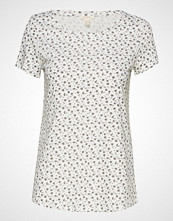 Esprit Casual T-Shirts T-shirts & Tops Short-sleeved Hvit ESPRIT CASUAL