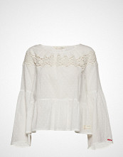 Odd Molly Lacey Moves Blouse Bluse Langermet Hvit ODD MOLLY