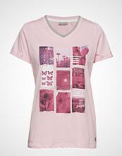 Fransa Frcifruit 2 T-Shirt T-shirts & Tops Short-sleeved Rosa FRANSA
