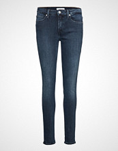 Calvin Klein Ckj 011 Mid Rise Ski Skinny Jeans Blå CALVIN KLEIN JEANS