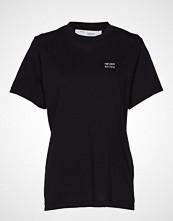 Iro Nelkar T-shirts & Tops Short-sleeved Svart IRO