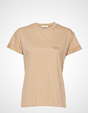 Notes du Nord Marvel T-Shirt T-shirts & Tops Short-sleeved Beige NOTES DU NORD