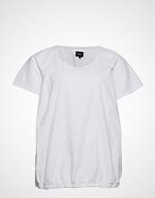 Zizzi Mmarrakesh, Ss, Blouse T-shirts & Tops Short-sleeved Hvit ZIZZI