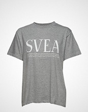 Svea Oxford Tee T-shirts & Tops Short-sleeved Grå SVEA