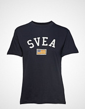Svea Fina Tee T-shirts & Tops Short-sleeved Blå Svea