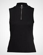 Vero Moda Vmcillas Sl Top Jrs T-shirts & Tops Sleeveless Svart VERO MODA
