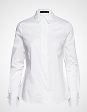 Mango Cotton Shirt Langermet Skjorte Hvit MANGO