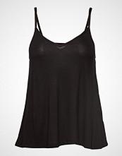 Gina Tricot Emilia Singlet T-shirts & Tops Sleeveless Svart GINA TRICOT